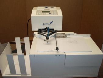 signature signing machine
